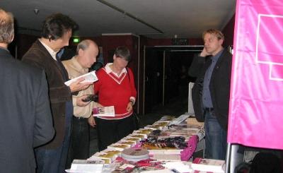 Der Stand von DVG und DBB im UCI-Kino