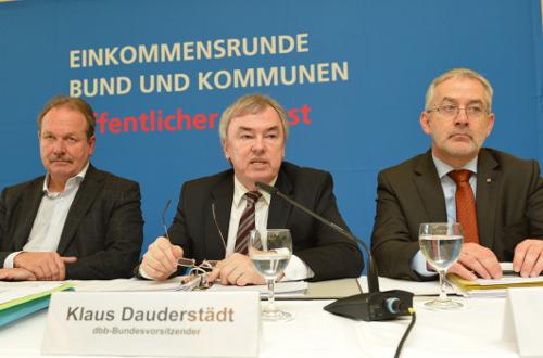 dbb Pressekonferenz 11.02.2014
