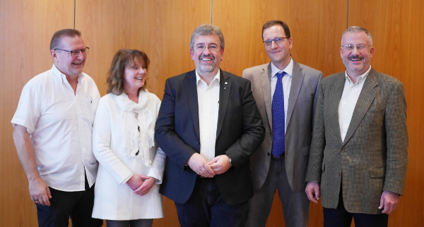Foto des neuen Vorstandes der DVG-BB ab 14.11.2019